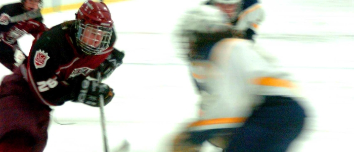 blurry hockey